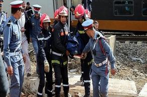 تسجيل سبع حالات وفاة عقب انحراف قطار  بوقنادل