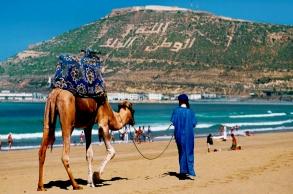 المغاربة يتصدرون قائمة السياح الوافدين على أكادير...
