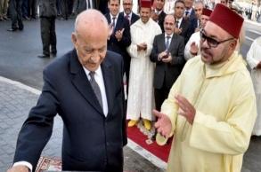 جلالة الملك يثمّن مبادرة اليوسفي بإصدار سيرته...