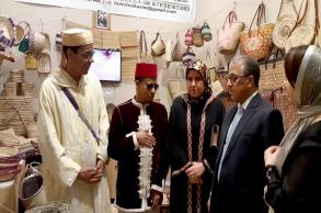 المصلي: منتوجات الصناعة التقليدية المغربية...