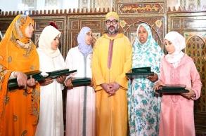 أمير المؤمنين يسلم جائزة محمد السادس للمتفوقات في...