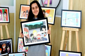 آية الصوفي..طفلة فنانة من آسفي سخرت موهبتها لكسر...