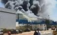 المحمدية..حريق بمستودع لتخزين المواد الغذائية...