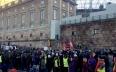 احتجاجات في السويد على حرق المساجد