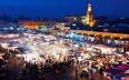 """ساحة جامع الفنا تتصدر قائمة تصنيف """"طوب25..."""